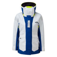 Gill Womens OS2 Offshore / Coastal Sailing Jacket  - White