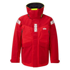Gill Os2 Offshore / Coastal Sailing Jacket  - Rosso