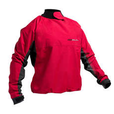 Spray Gul Junior Shore Waterproof / Windproof Top 2019 - Rosso / Nero