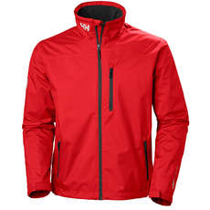 Helly Hansen Crew Mid Layer Jacket - Red