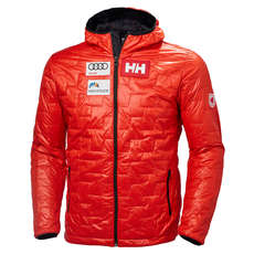 Helly Hansen Lifaloft Hooded Insulator Jacket - Grenadine Logo