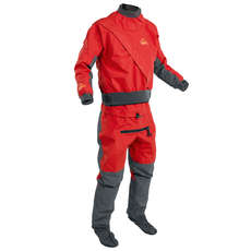 Palm Cascade Drysuit - Kayaking - Flame/Jet Grey