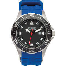 Cressi Manta Divers Watch 100m - Black/Blue