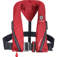 Crewsaver Crewfit 165N Sport Lifejacket - Harness Auto - Red - 9715A
