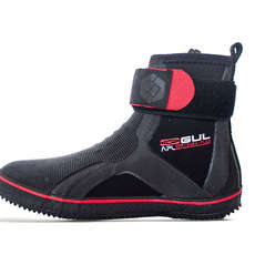 Gul APL 5mm Pro Lace Boot  - Black/Red