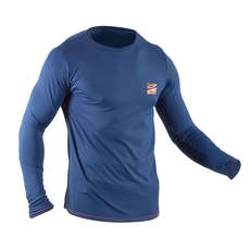 2020 Gul Tee Fit Long Sleeve Rashvest - Blue - RG0369 - B7