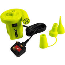 Jobe 230V Air Pump  - Enchufe Del Reino Unido - Amarillo
