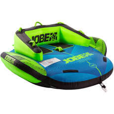 Jobe Binar 2 Person Towable  - Blue/Green