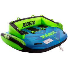 Jobe Lunar 3 Person Towable  - Azul / Verde