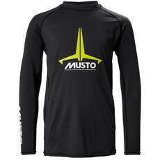 Musto Youth Insignia UV Fast Dry Rash Guard  - Black