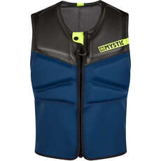 Gilet Impact  Mystic Block Kite Surf Con Zip Frontale - Navy / Lime