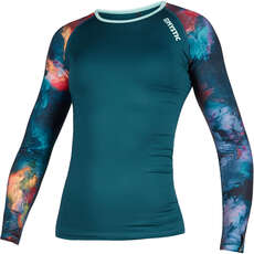 Mystic Womens Diva Longsleeve Quickdry Top  - Teal