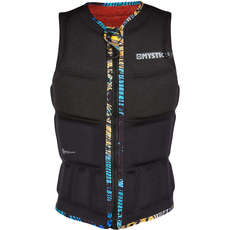 Mystic Womens GEM Wake Boarding Front-Zip Impact Vest - Black