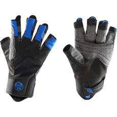 North Sails Sailing Gloves - Black/Blue