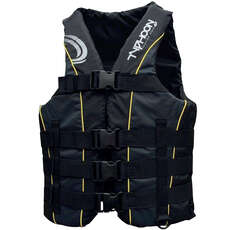 2021 Typhoon 4 Buckle Ski Vest - Grey/Black - SK4A
