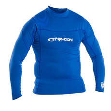 Typhoon Débardeur Rash Locked Flat Sleeve - Aqua Blue