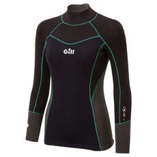 Gill Womens Zentherm Dinghy Sailing Wetsuit Top - Black