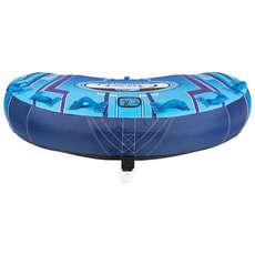 Connelly Cruzer 3 Rider Soft Top Ultra Plush Concave Deck Tube - Blue