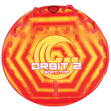 Connelly Orbit 2 Rider Ultra-Plush Concave Deck Tube - Orange
