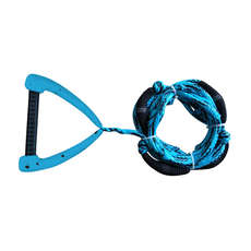 Hyperlite 25 Ft Pro Surf Rope with Handle - Blue