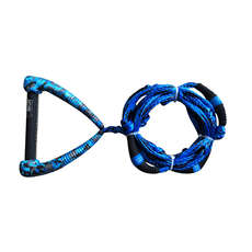 Hyperlite 25 Ft Riot Surf Rope Con Mango - Azul
