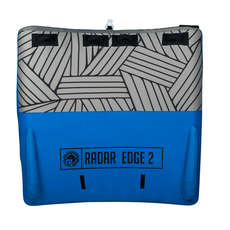 Radar Edge 2 Person Towable Tube - Blue