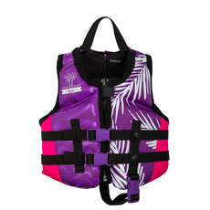 Chaleco Pfd Radar Girls Childs  - Púrpura / Rosa