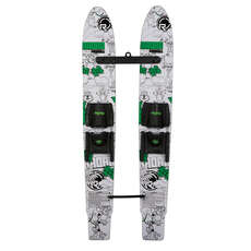 "Radar Kids Firebolt Combo 46"" Water Skis with Adjustable Horseshoe Bindings"