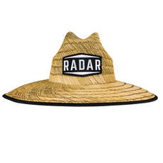 2020 Radar Paddlers Sun Hat - Tan Straw/Wave Nylon