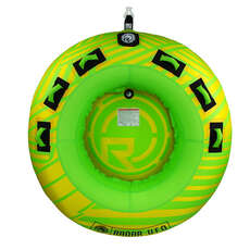 Radar UFO 2 Person Towable Tube - Yellow/Green