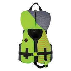 Ronix Boy's Vision CGA Wake Vest - Lime/Black