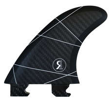 Ronix Fin-S 3.5 Floating ToolLess Surf Fin - Black