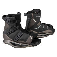 Ronix Kid's Anthem Wakeboard Boot - Black/Black Chrome