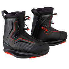 Ronix One Boot Intuition Wakeboard Boot - Carbitex / Red