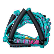 Ronix Women's Bungee Surf Rope with Handle - Pink