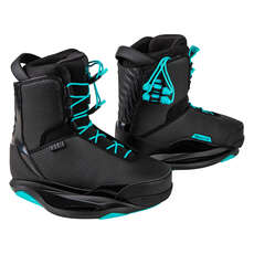 Ronix Women's Signature Wakeboard Boot - Black/Shift