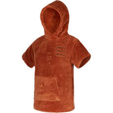 Mystic Teddy Kids Poncho / Fasciatoio  - Rusty Red
