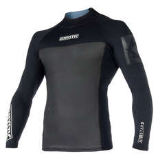 Mystic Star Neoprene 2mm Long-Sleeve Vest  - Black