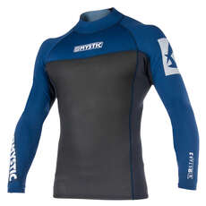 Mystic Star Neoprene 2mm Long-Sleeve Vest  - Navy