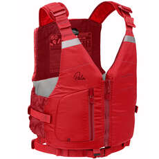 Ayuda A La Flotabilidad Palm Meander High Back Pfd  - Flame