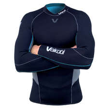 Vaikobi FLEXFORCE 3mm GBS Wetsuit Top  - Black/Grey