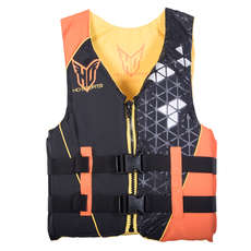 Ho Sports Hombre Infinite Waterski Chaleco - Naranja / Negro