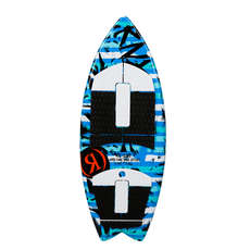Ronix Boys Super Sonic Space Odyssey Fish Surfer - Azul / Blanco / Negro