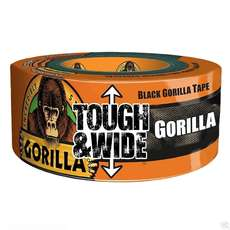 Gorilla Tape - Tough & Wide - Black - 70mm x 27m