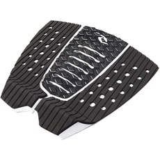 Rip Curl 3 Piece Surfboard Traction Pad - Black/White