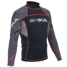 Gul Profile 3mm Wetsuit Top - Black/Charcoal