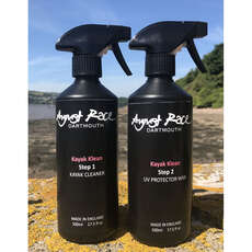 August Race KAYAK CLEAN and Protect 2 Pack Kit