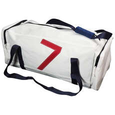 Bainbridge Crew Sailcloth Sail Number Sailing Bag - White - 65 Ltr