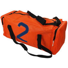 Bainbridge Crew Sailcloth Sail Number Sailing Bag - Orange - 65 Ltr