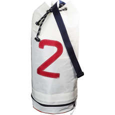 Bainbridge Sailcloth Sail Number Duffel Sailing Bag - Blanco - 43 Litros